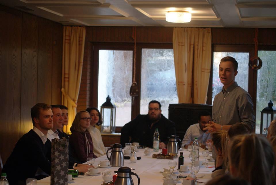 Tim Mithöfer Frühstück Junge Union Isernhagen