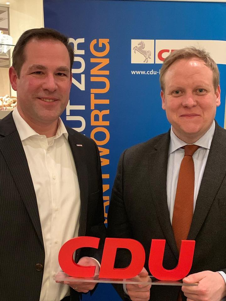 Tim Mithöfer Versammlung CDU Isernhagen