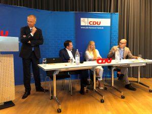 Tim Mithöfer Mitgliederversammlung CDU Isernhagen