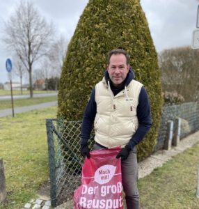 Müllaktion Tim Mithöfer