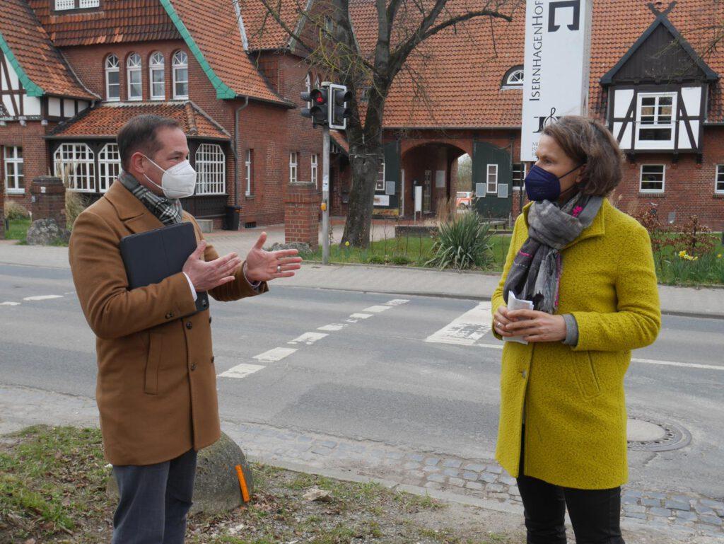 Christine Karasch Tim Mithöfer Radwege A7 K113